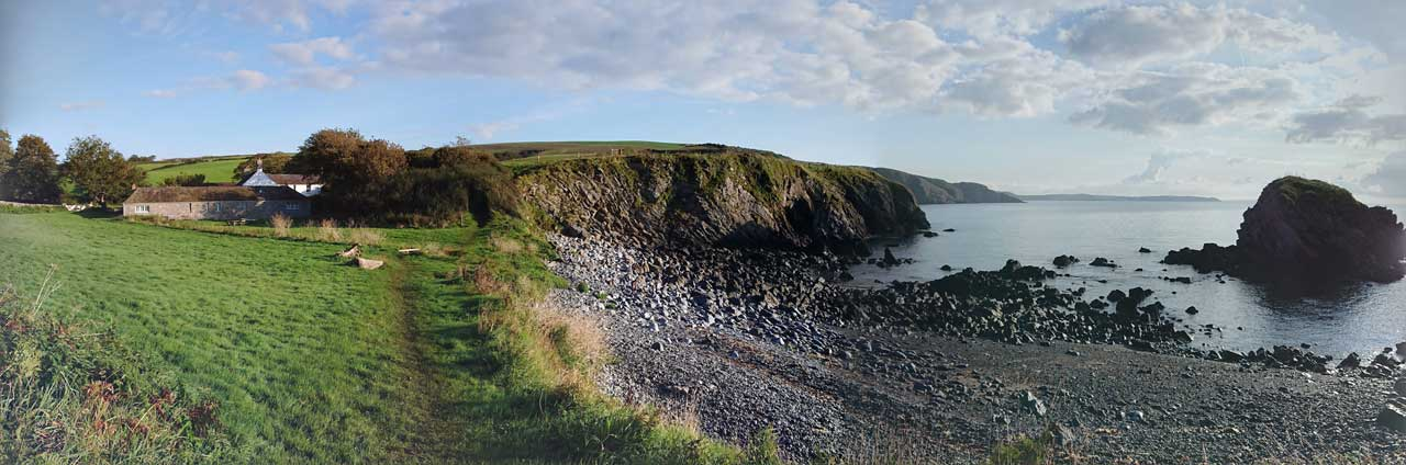 The Stackpole Estate from Stackpole Quay is a great walk near Tenby
