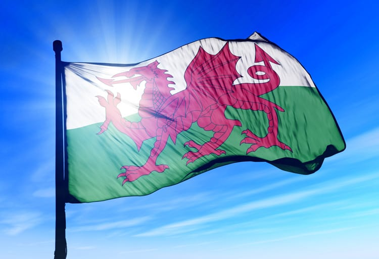 When you think of wales Welsh Flag