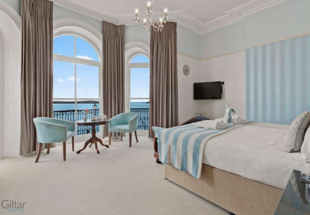 Giltar Hotel in Tenby with sea views