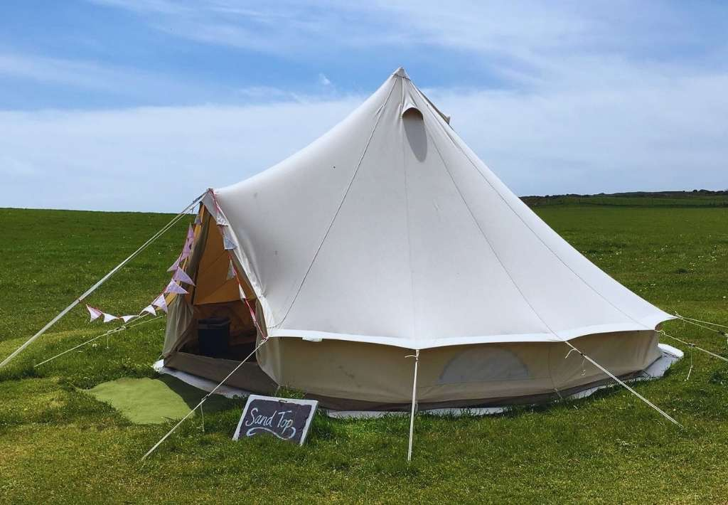 Tenby glamping bell tent