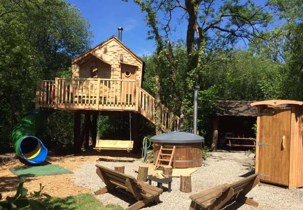 Florence Springs Glamping Treehouse