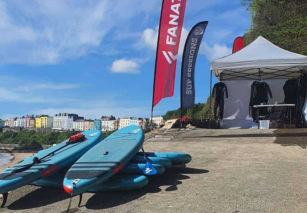 Sup Session Tenby